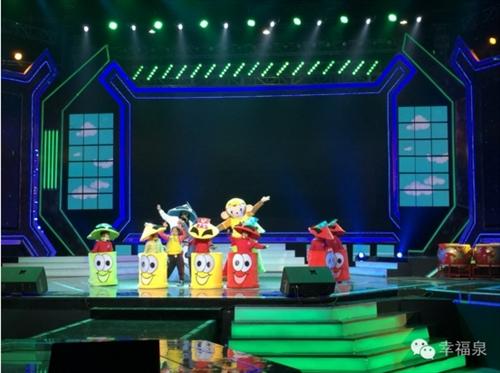 """幸福泉幼儿园每日育儿百科:幸福泉""""环保小卫士""""的创意发明剧,惊艳北京鸟巢"""