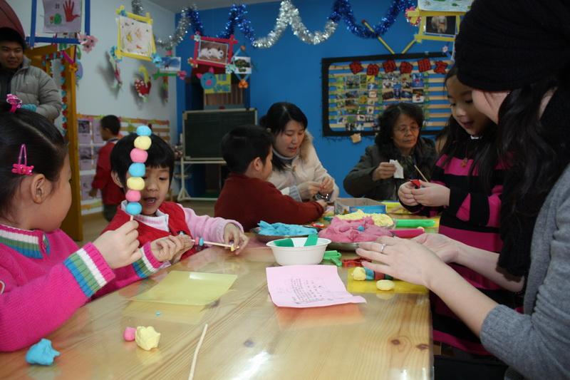 北京市西城区幸福泉幼儿园举办新年联欢活动 _幸福泉